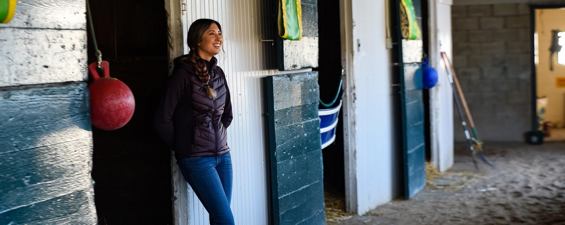A day with Trainer Shelbe Ruis